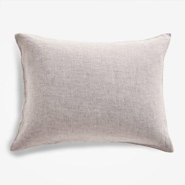 Burgundy Chambray Pillowcase Set