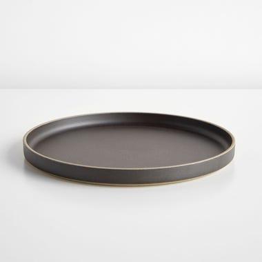 """Hasami Black Plate 10"""""""