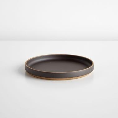"""Hasami Black Plate 7.5"""""""