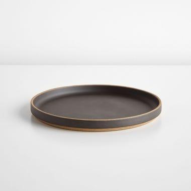"""Hasami Black Plate 8.5"""""""