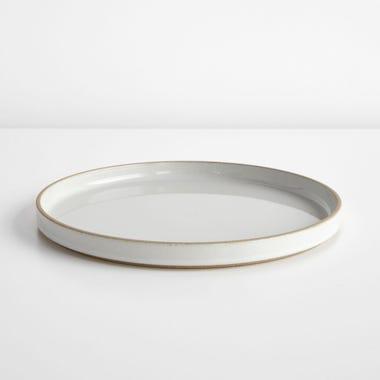 "Hasami Gloss Gray Plate 10"""