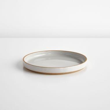 "Hasami Gloss Gray Plate 7.5"""