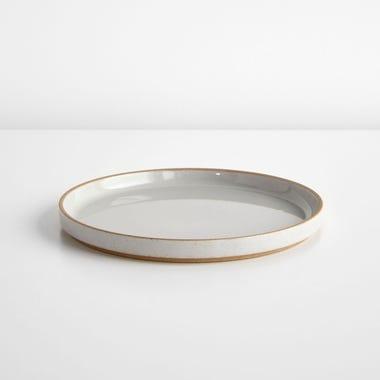"Hasami Gloss Gray Plate 8.5"""