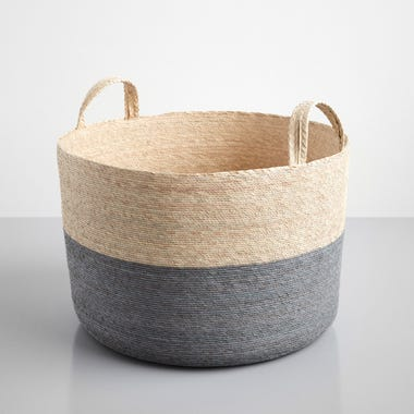 Gray Band Loma Basket 19.5""