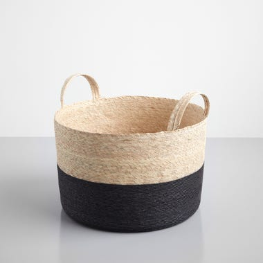 Black Band Loma Basket 15.75""