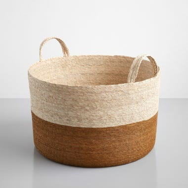 Ochre Band Loma Basket 19.5""