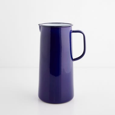 Falcon Blue Enamelware 3 Pint Pitcher
