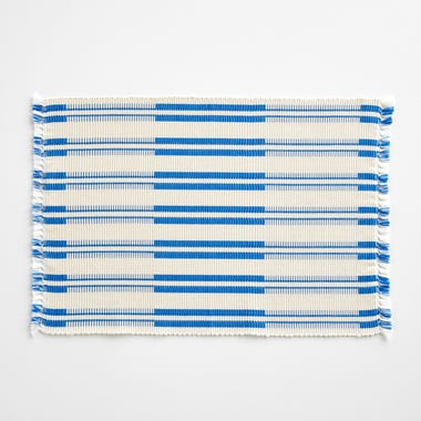 Tira Blue and White Placemat