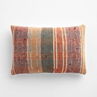 """Edmer Stripe Throw Pillow Cover 12"""" x 18"""""""