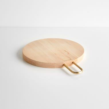 Heath Round Maple Wood Board