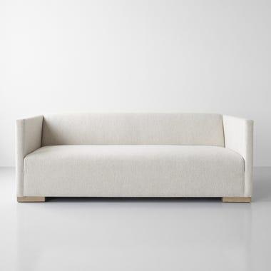 "Croughton Oatmeal Sofa 85"""