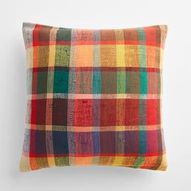 """Milton Plaid Throw Pillow Cover 20"""" x 20"""""""