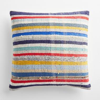 "Gedling Stripe Throw Pillow Cover 20"" x 20"""