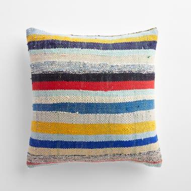 "Gedling Stripe Throw Pillow Cover 17"" x 17"""