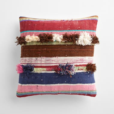 """Tilbury Stripe Throw Pillow Cover 17"""" x 17"""""""