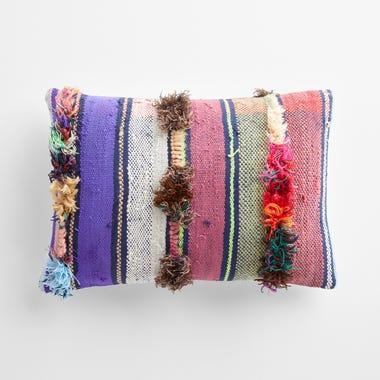 """Tilbury Stripe Throw Pillow Cover 12"""" x 18"""""""