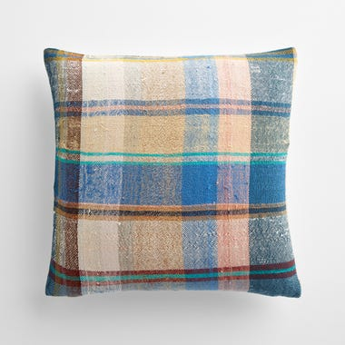"""Malling Plaid Throw Pillow Cover 17"""" x 17"""""""