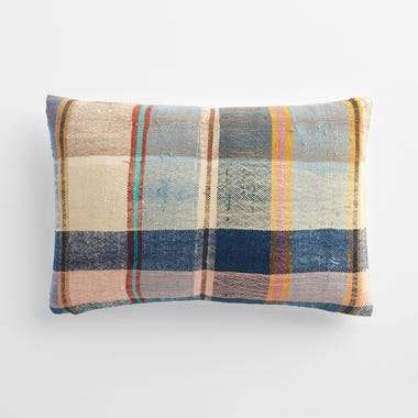 """Malling Plaid Throw Pillow Cover 12"""" x 18"""" #3"""