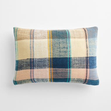 """Malling Plaid Throw Pillow Cover 12"""" x 18"""" #6"""