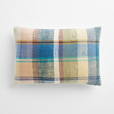 """Malling Plaid Throw Pillow Cover 12"""" x 18"""""""