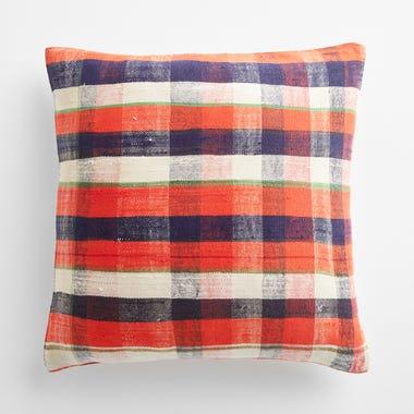 "Sefton Plaid Throw Pillow Cover 20"" x 20"""