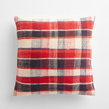 "Sefton Plaid Throw Pillow Cover 17"" x 17"" #2"