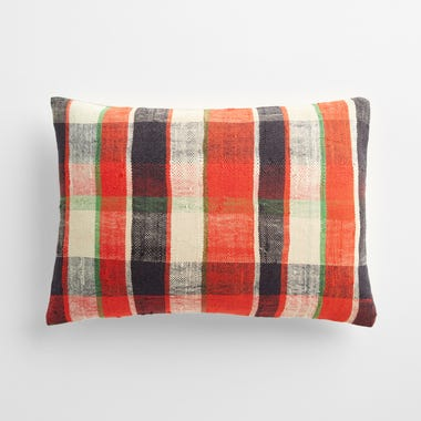 "Sefton Plaid Throw Pillow Cover 12"" x 18"" #5"