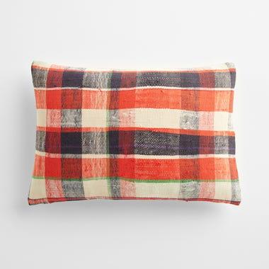 "Sefton Plaid Throw Pillow Cover 12"" x 18"" #6"