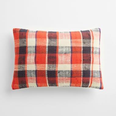 "Sefton Plaid Throw Pillow Cover 12"" x 18"" #7"