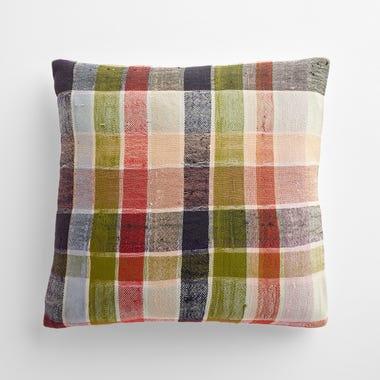 "Taunton Plaid Throw Pillow Cover 17"" x 17"""