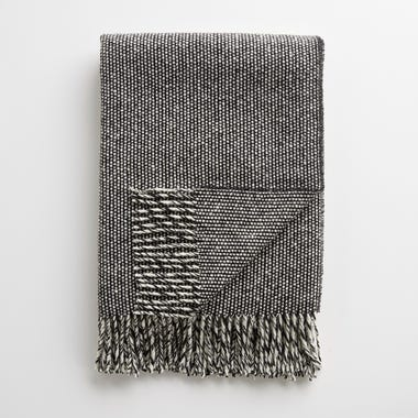 Emphasize Tweed Monochrome II Throw Blanket