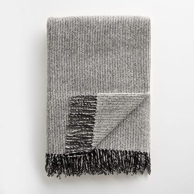 Emphasize Tweed Monochrome III Throw Blanket