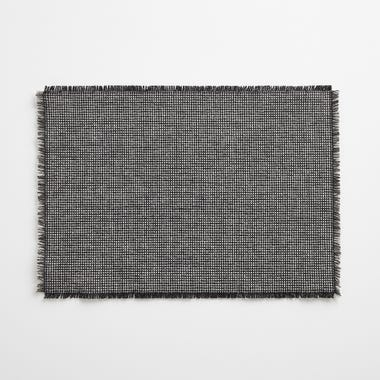 Check Slate Placemats Set of 4