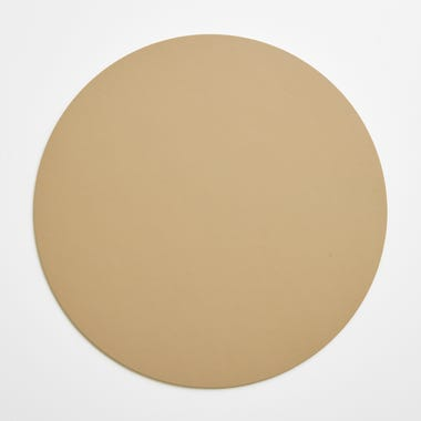 Dot Sand Round Leather Placemat