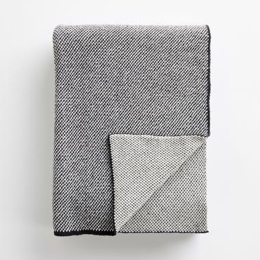 Birds Eye Tweed Knit Throw Blanket