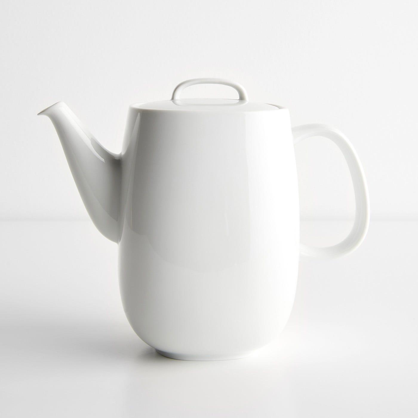 Moon White Coffee Pot
