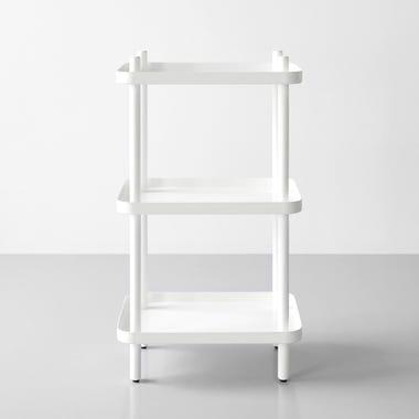 White Block Shelf