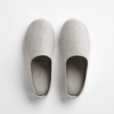 Sasawashi Gray Room Shoes Medium