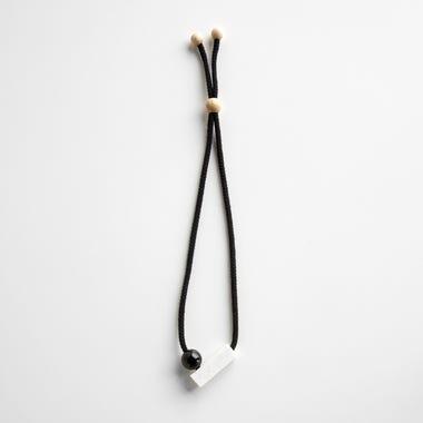 Josef Black Necklace