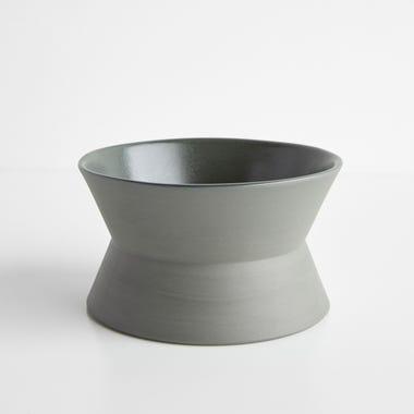 Zig Zag Sage Low Bowl