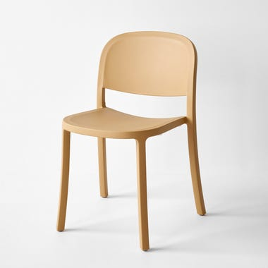 1 Inch Sand Reclaimed Stacking Chair