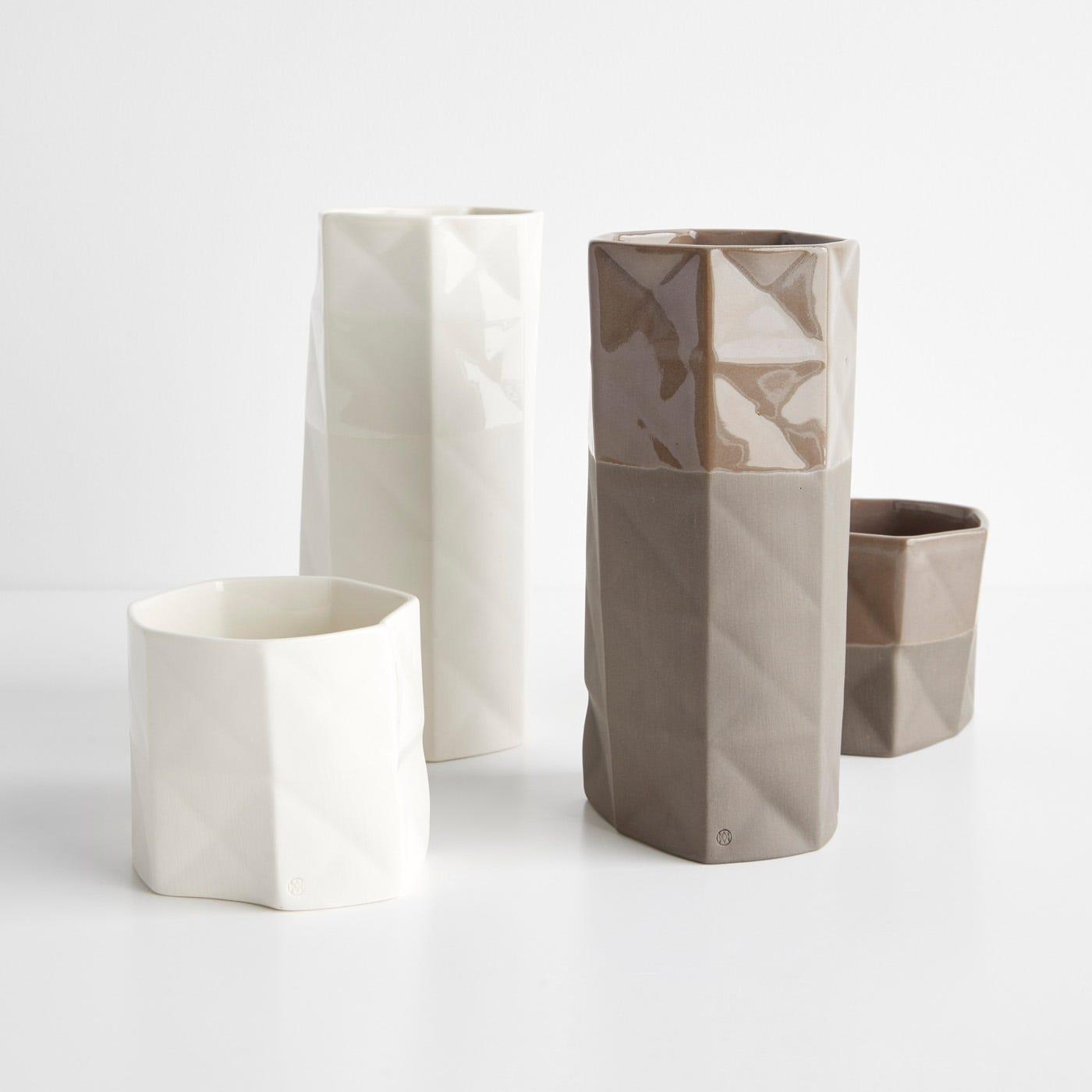 Origami Vases