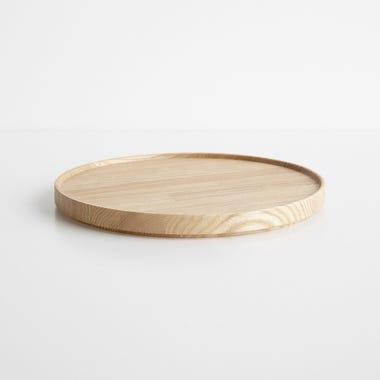 """Hasami Ash Wood Tray 10"""""""