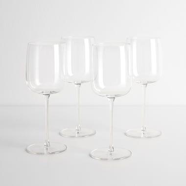 LSA International Borough White Wine Glasses Set of 4