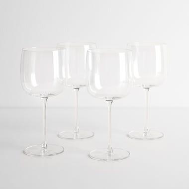 LSA International Borough Red Wine Glasses Set of 4
