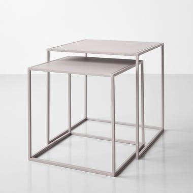 Fera Gray Nesting Tables Set of 2