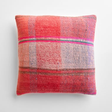 """Tulloch Plaid Throw Pillow Cover 17"""" x 17"""""""