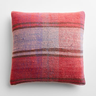 """Tulloch Plaid Throw Pillow Cover 20"""" x 20"""""""