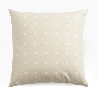 "Dots Canvas Throw Pillow Cover 22"" x 22"""