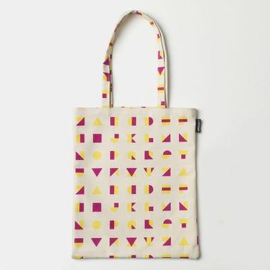 Alphablocks Yellow Tote Bag